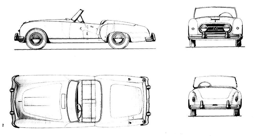 Dessin  automobiles classiques 1952_n10