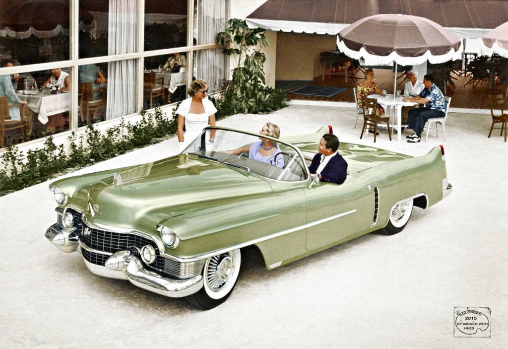 1953 Cadillac Le Mans concept. 1953-c10