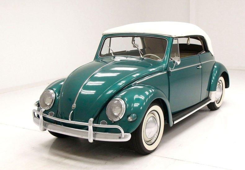 1956 VW Beetle Convertible 1956-v11
