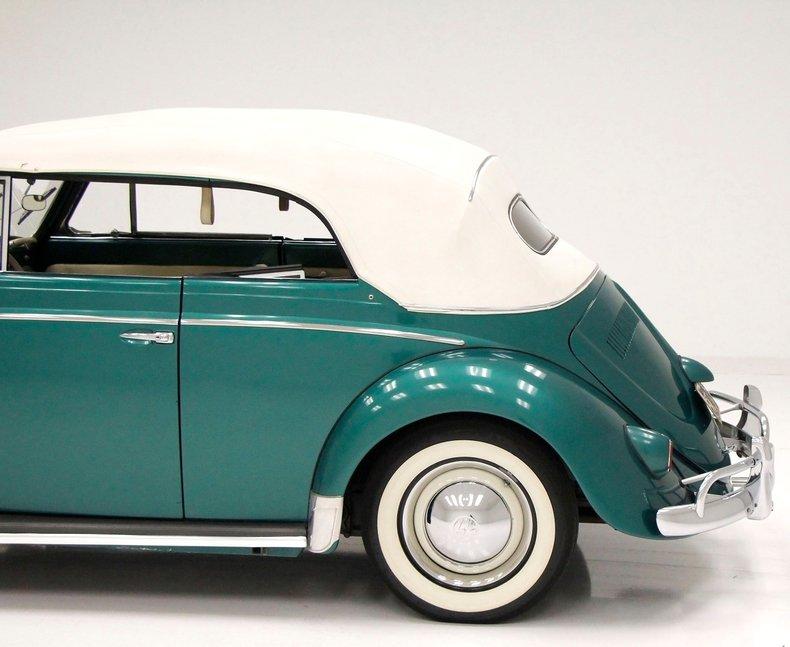 1956 VW Beetle Convertible 1956-v12