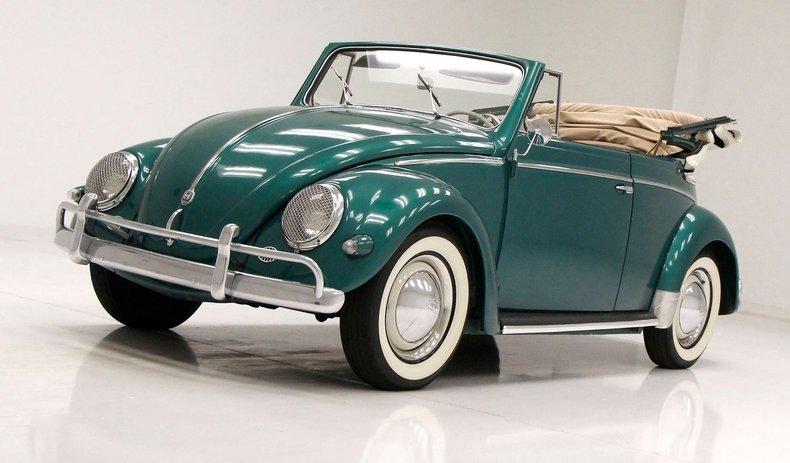 1956 VW Beetle Convertible 1956-v13