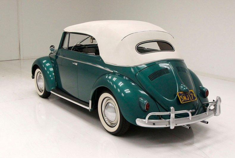 1956 VW Beetle Convertible 1956-v14