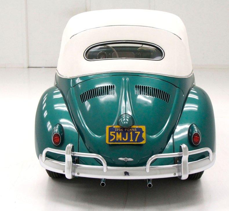 1956 VW Beetle Convertible 1956-v15