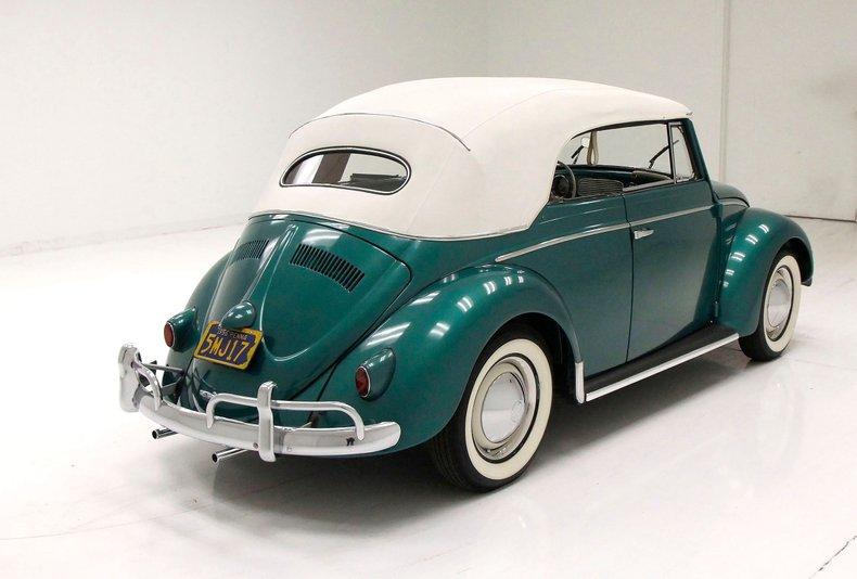 1956 VW Beetle Convertible 1956-v17