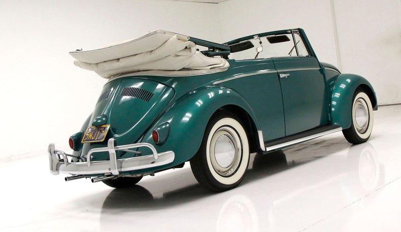 1956 VW Beetle Convertible 1956-v18