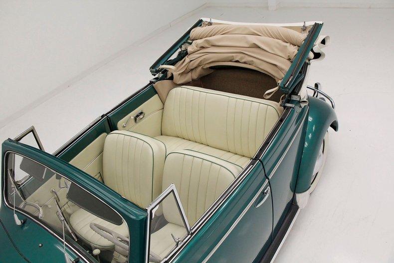 1956 VW Beetle Convertible 1956-v22