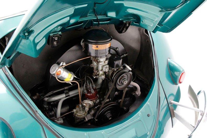 1956 VW Beetle Convertible 1956-v23