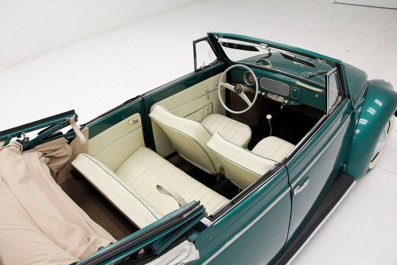 1956 VW Beetle Convertible 1956-v24
