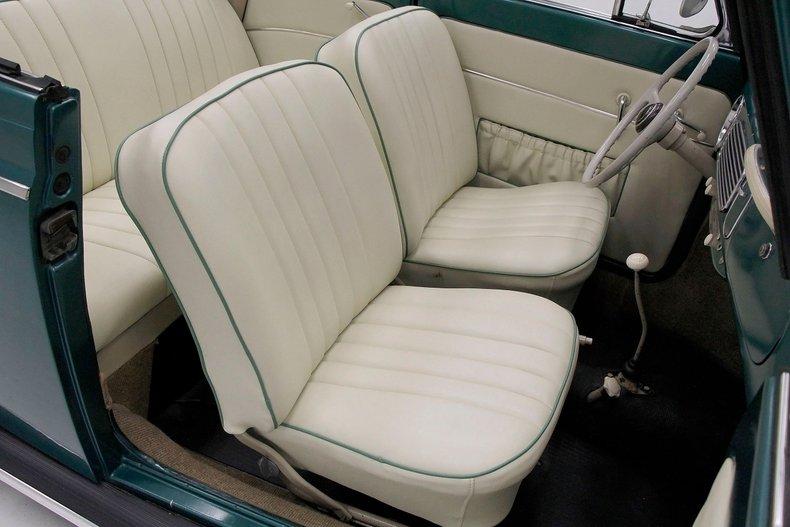 1956 VW Beetle Convertible 1956-v25