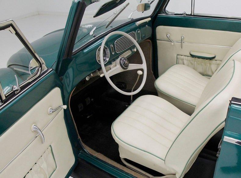 1956 VW Beetle Convertible 1956-v27