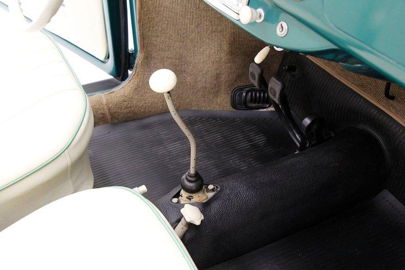 1956 VW Beetle Convertible 1956-v28