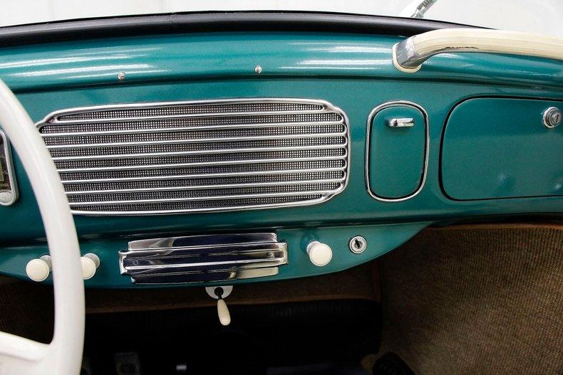 1956 VW Beetle Convertible 1956-v29