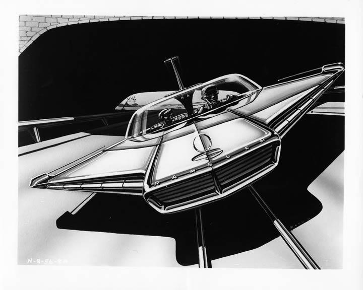Prototype, maquette et exercice de style - concept car & style - Page 3 1956_a10