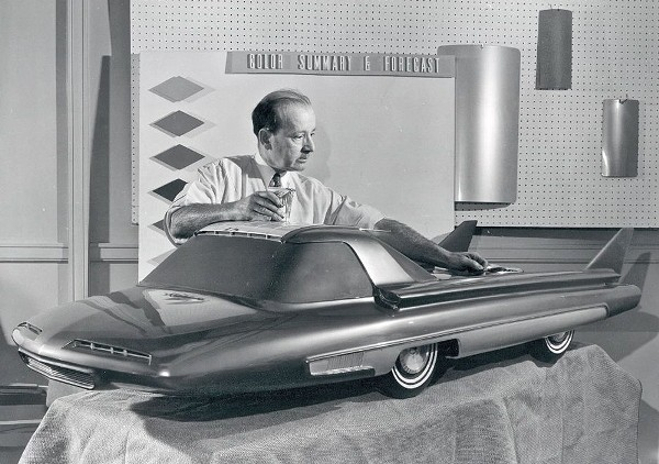 Ford Nucleon - concept car 1958 1958-n10
