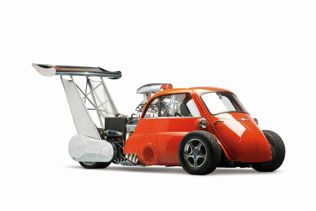 1959 Bmw Isetta Dragster - Whatta Drag - Chevy V8 Powered - Real Hot Wheels 1959-b11