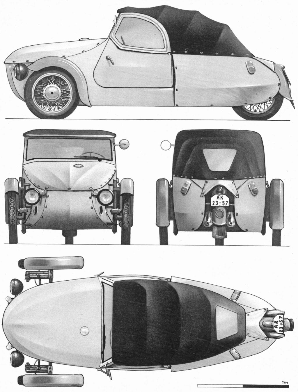 Dessin  automobiles classiques 1963-710