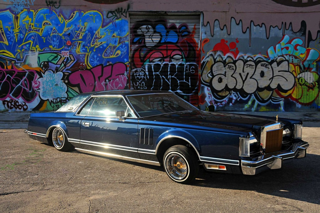 Lincoln Continental Mark 3, 4 & 5 Low Rider 1979-l14