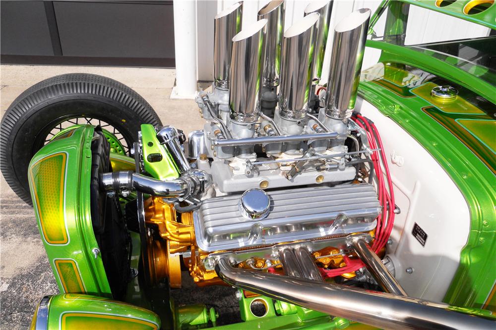 Wild Green A - Ford A Coupe - Heath Garage 19888811
