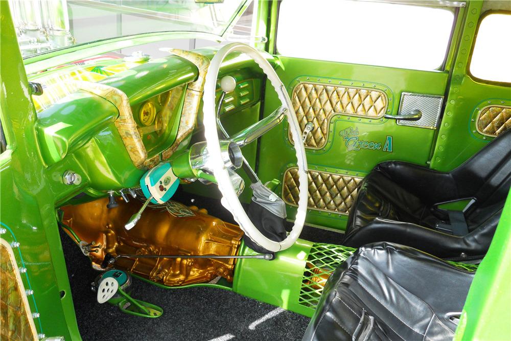 Wild Green A - Ford A Coupe - Heath Garage 19888812