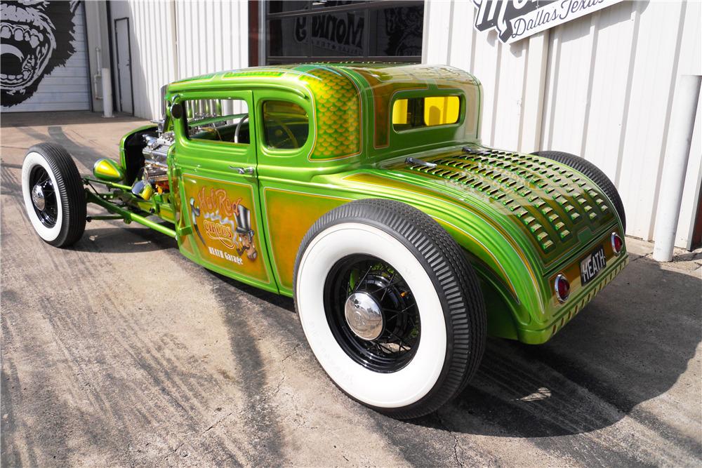 Wild Green A - Ford A Coupe - Heath Garage 19888813