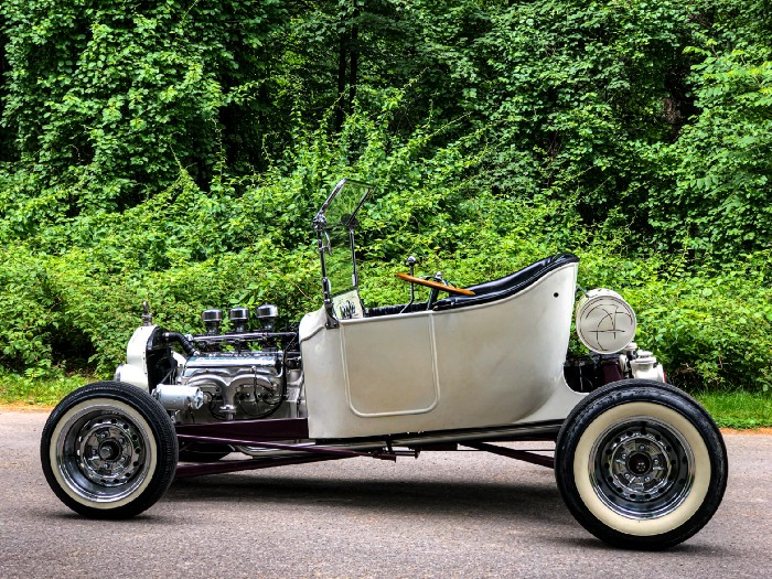 1920 Ford T-Bucket Roadster - Fred Steele and Don Spinney - The Ventures in Space album cover 1_7erc10