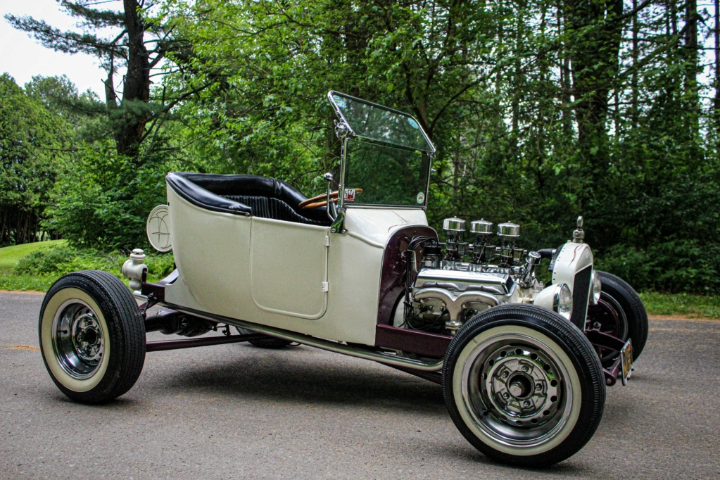 1920 Ford T-Bucket Roadster - Fred Steele and Don Spinney - The Ventures in Space album cover 1_ho2y10
