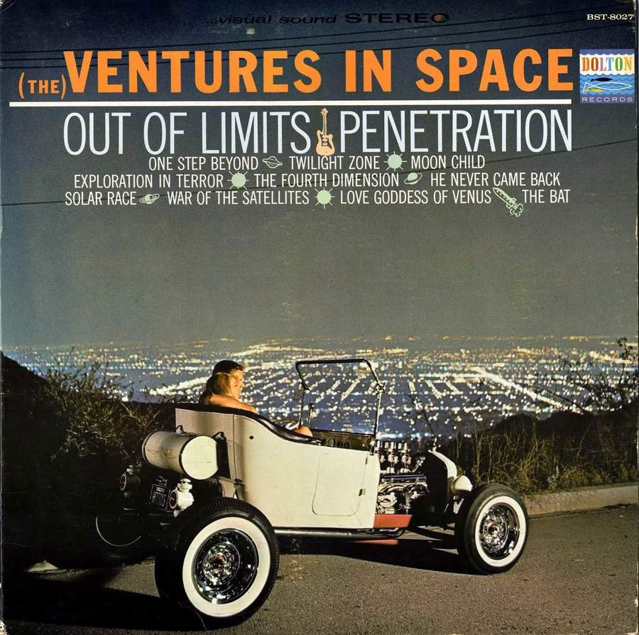 1920 Ford T-Bucket Roadster - Fred Steele and Don Spinney - The Ventures in Space album cover 1_jwau10