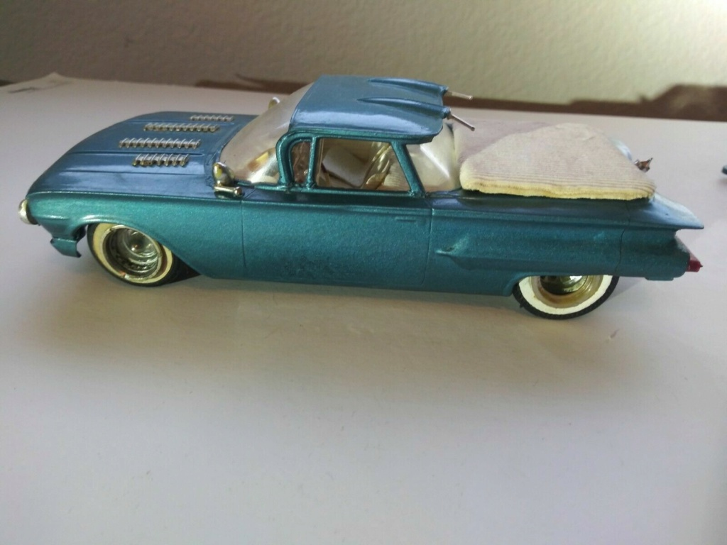 1960 Chevrolet El Camino - customizing kit - trophie series - Amt /Smp 1a10