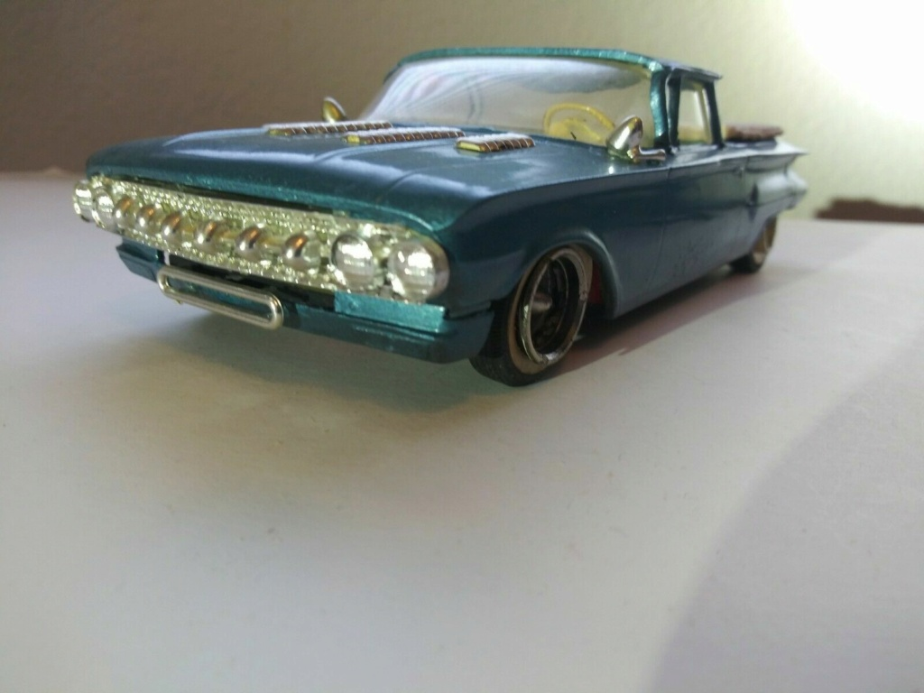 1960 Chevrolet El Camino - customizing kit - trophie series - Amt /Smp 1aaa10