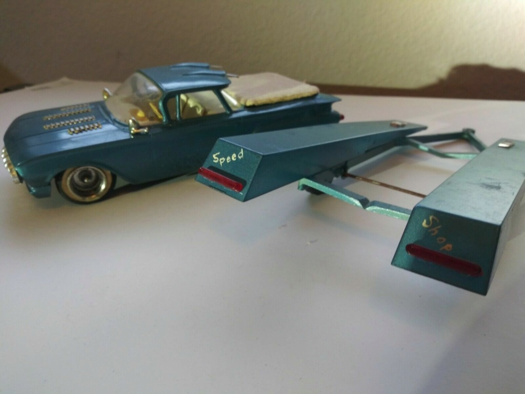 1960 Chevrolet El Camino - customizing kit - trophie series - Amt /Smp 1aaaaa10