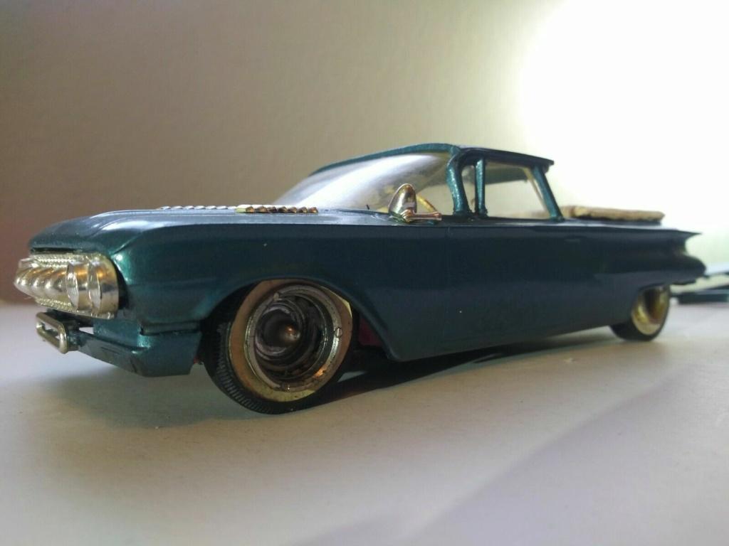 1960 Chevrolet El Camino - customizing kit - trophie series - Amt /Smp 1aaaaa11