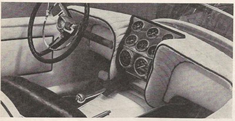 John Burnes, The Manta Ray - 32 Ford radical show rod Bat - Toronto, Ont. Car Craft, Jul 1963 1bat10