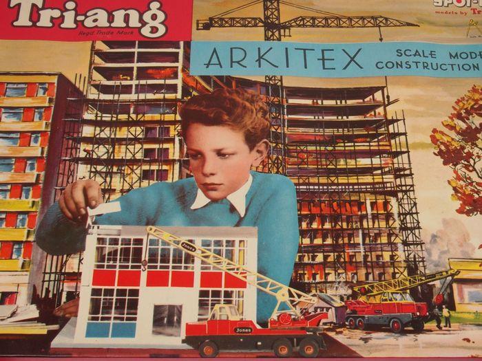 ARKITEX - Triang - Jeu de constructions 1de6c510
