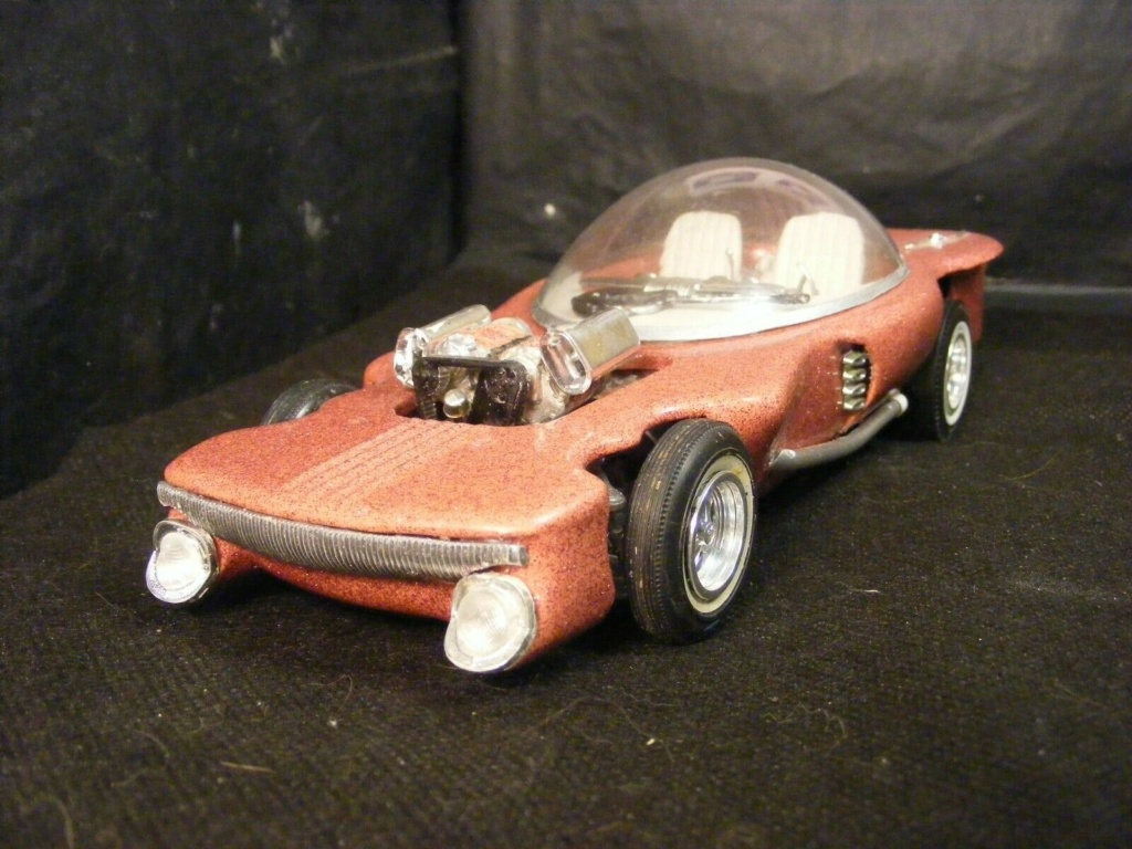 Vintage built automobile model kit survivor - Hot rod et Custom car maquettes montées anciennes - Page 13 1k10