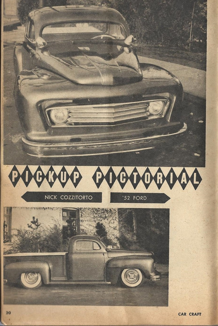 Car Craft - Special Pick Up June 1959 - Pick up Pictorial 2016