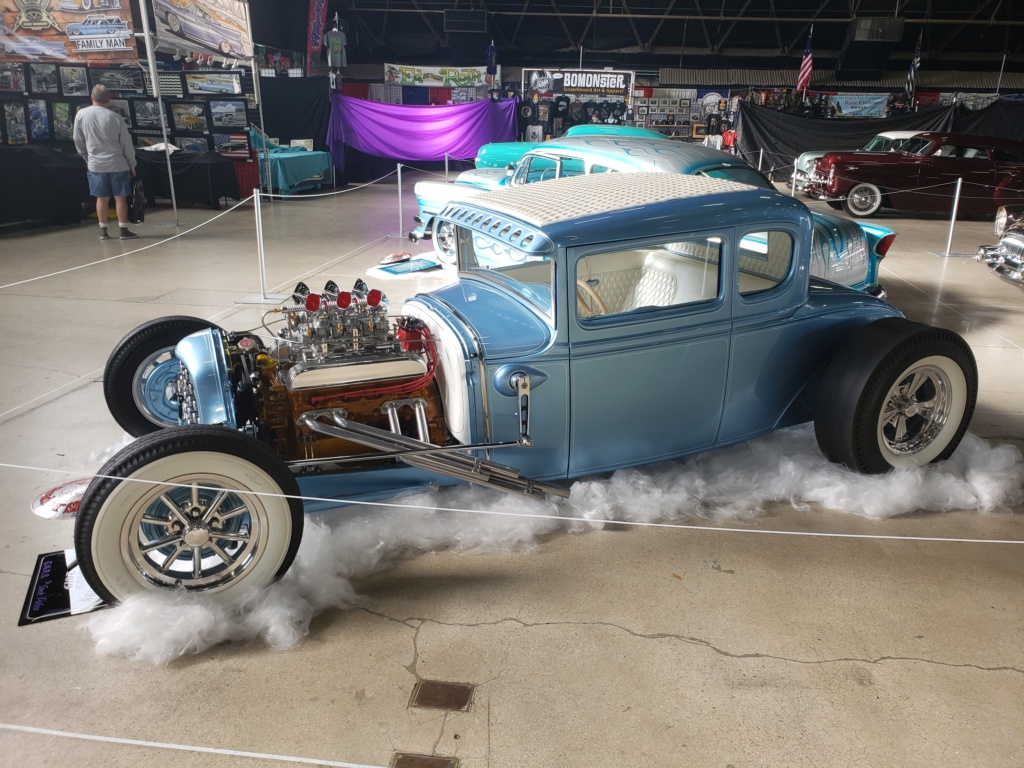 1931 Ford Model A - Mike Colman 2019-013