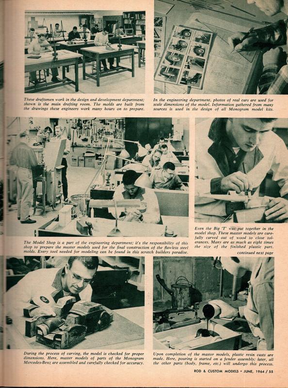 Rod and Custom Magazine Visit Monogram - June 1964 20285010