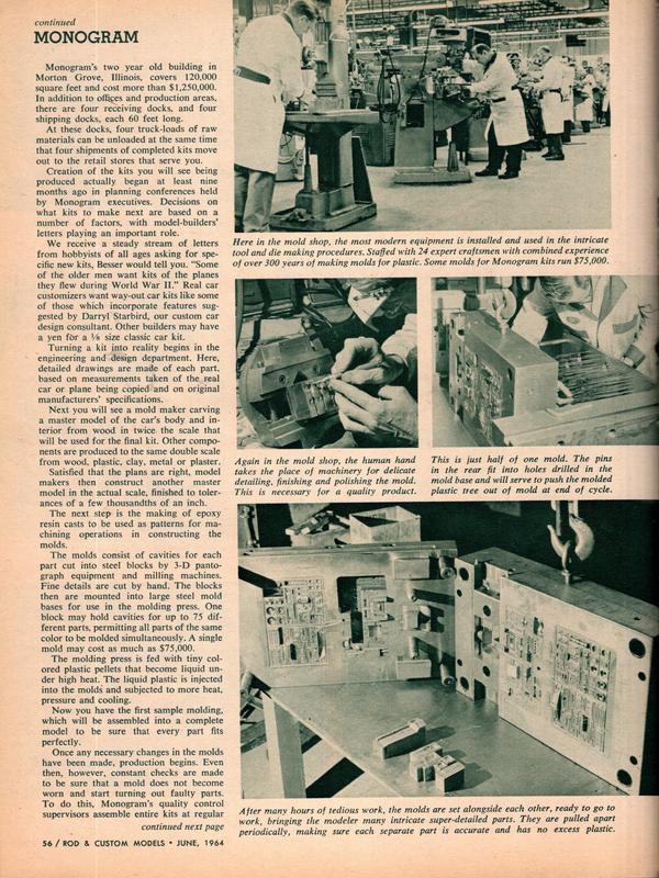Rod and Custom Magazine Visit Monogram - June 1964 20290610