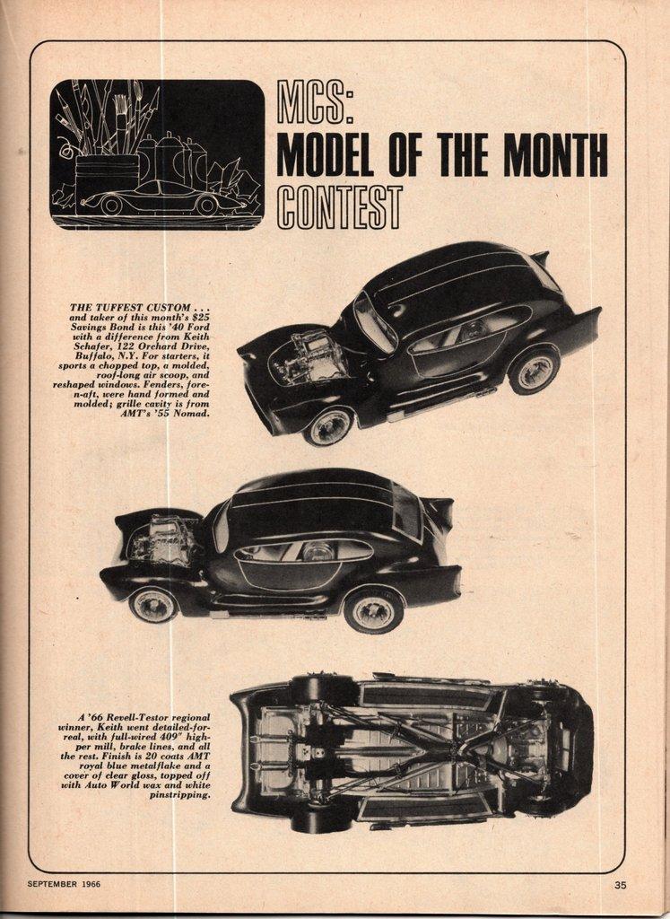 Vintage built automobile model kit survivor - Hot rod et Custom car maquettes montées anciennes - Page 15 20312310