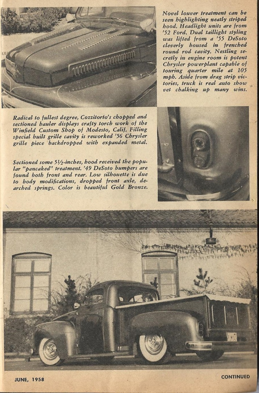Car Craft - Special Pick Up June 1959 - Pick up Pictorial 2117