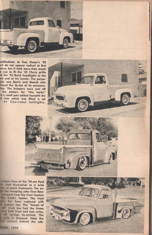 Rod et Custom - January 1959 - Tricks for Trucks - new ideas for pick up 2118