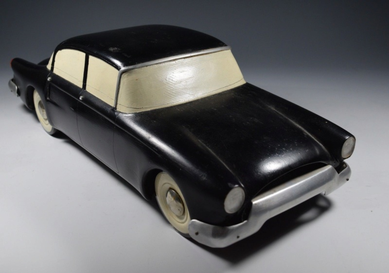 Vintage Auto Design Car Model Fisher Body Competition Streamline Futuristic 1950 212