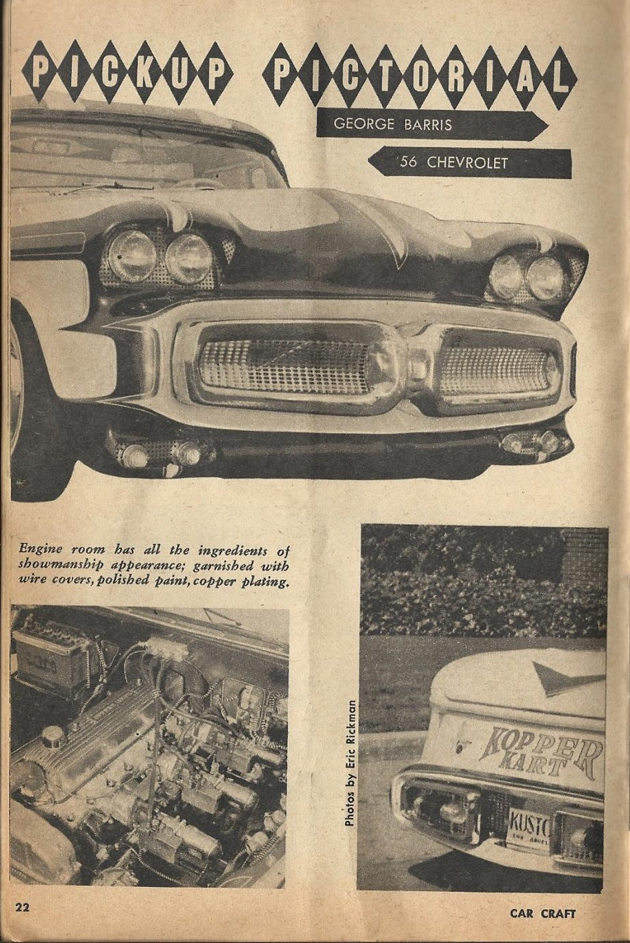 Car Craft - Special Pick Up June 1959 - Pick up Pictorial 2218
