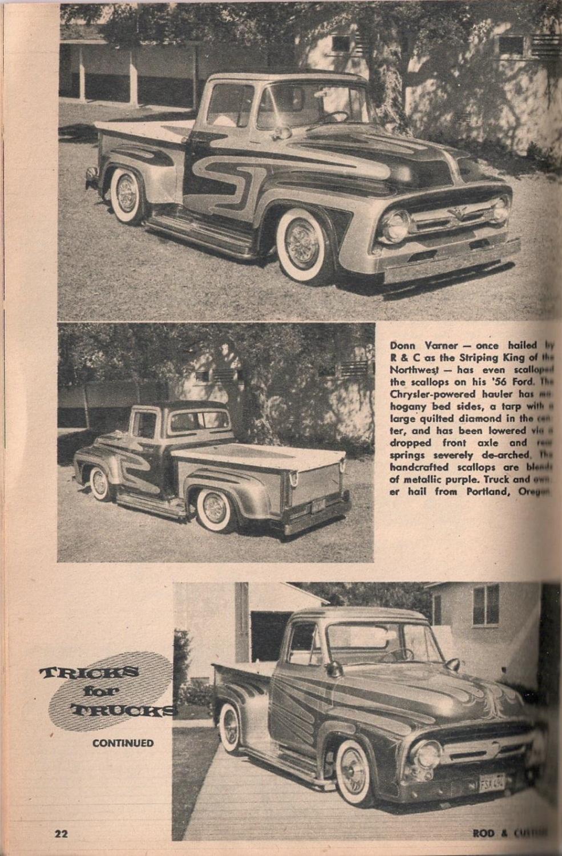 Rod et Custom - January 1959 - Tricks for Trucks - new ideas for pick up 2219