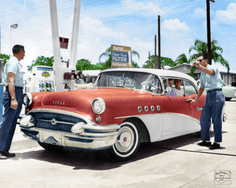 B & W Classic cars and vintage pics colorized by Imbued with hues 22281710