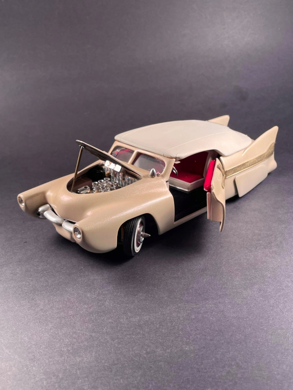 1950 Ford Convertible - customizing kit - trophie series - amt 22642810