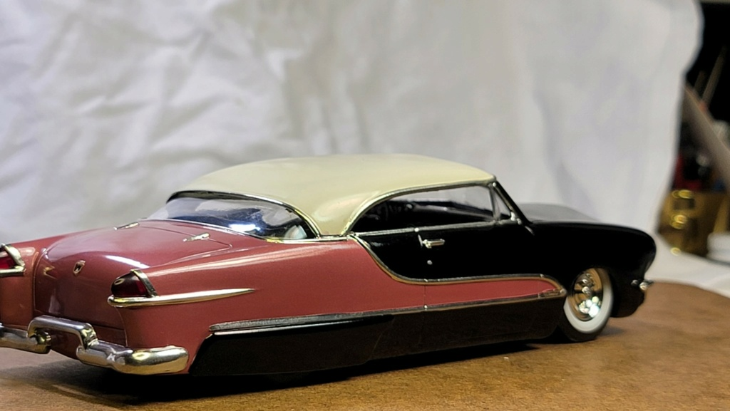 1950 Ford Convertible - customizing kit - trophie series - amt 22664510