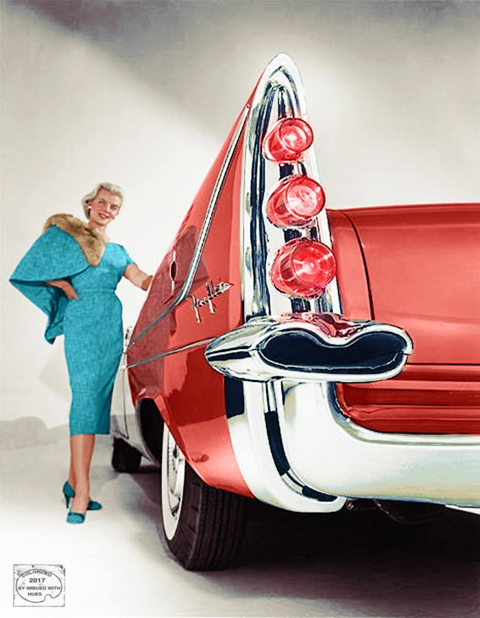 B & W Classic cars and vintage pics colorized by Imbued with hues 22687910