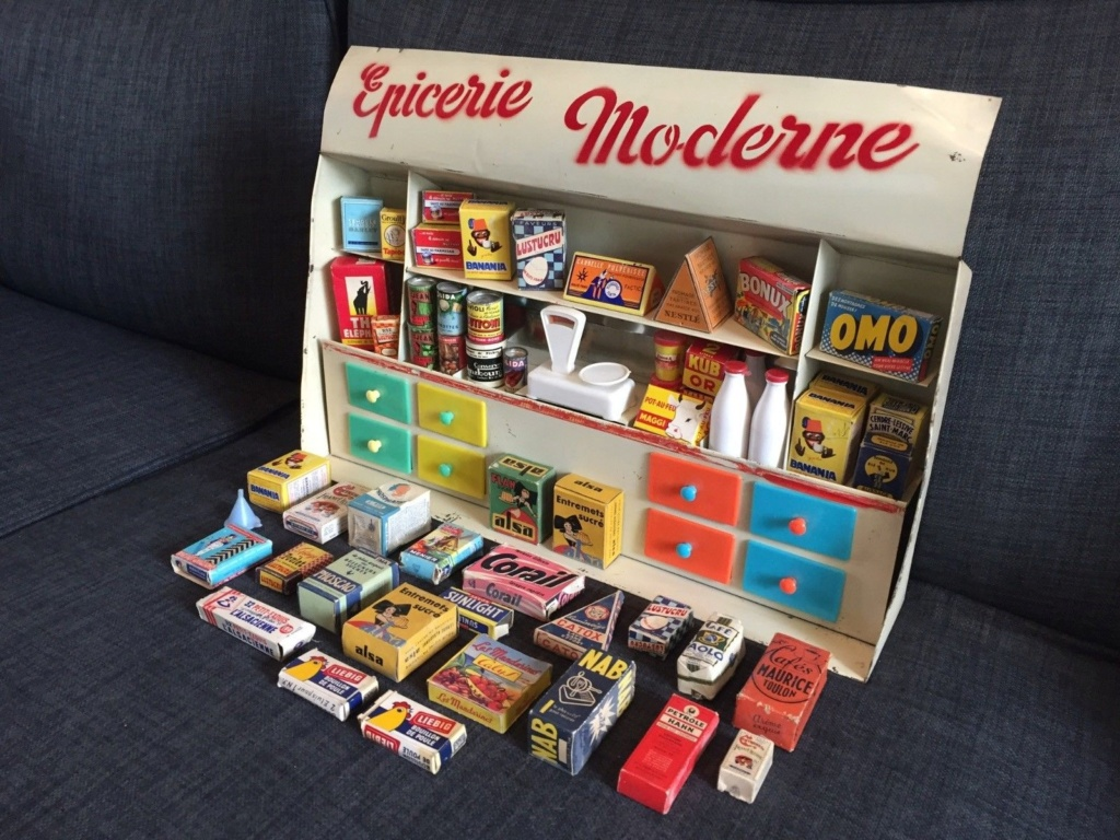 Epicerie jouet années 50 - Grocery toys vintage 227