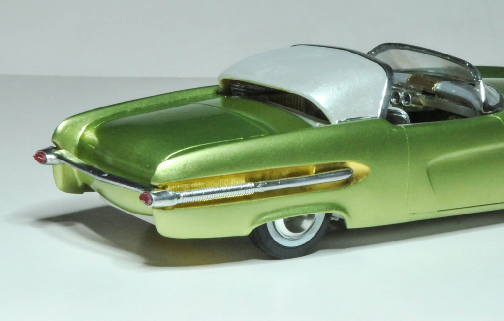 1950 Ford Convertible - customizing kit - trophie series - amt 22809310